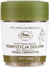Парфюмерия и Козметика Пилинг за лице - Jadwiga Herbal Composition Peeling