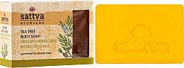 Парфюмерия и Козметика Сапун - Sattva Hand Made Soap Tea Tree