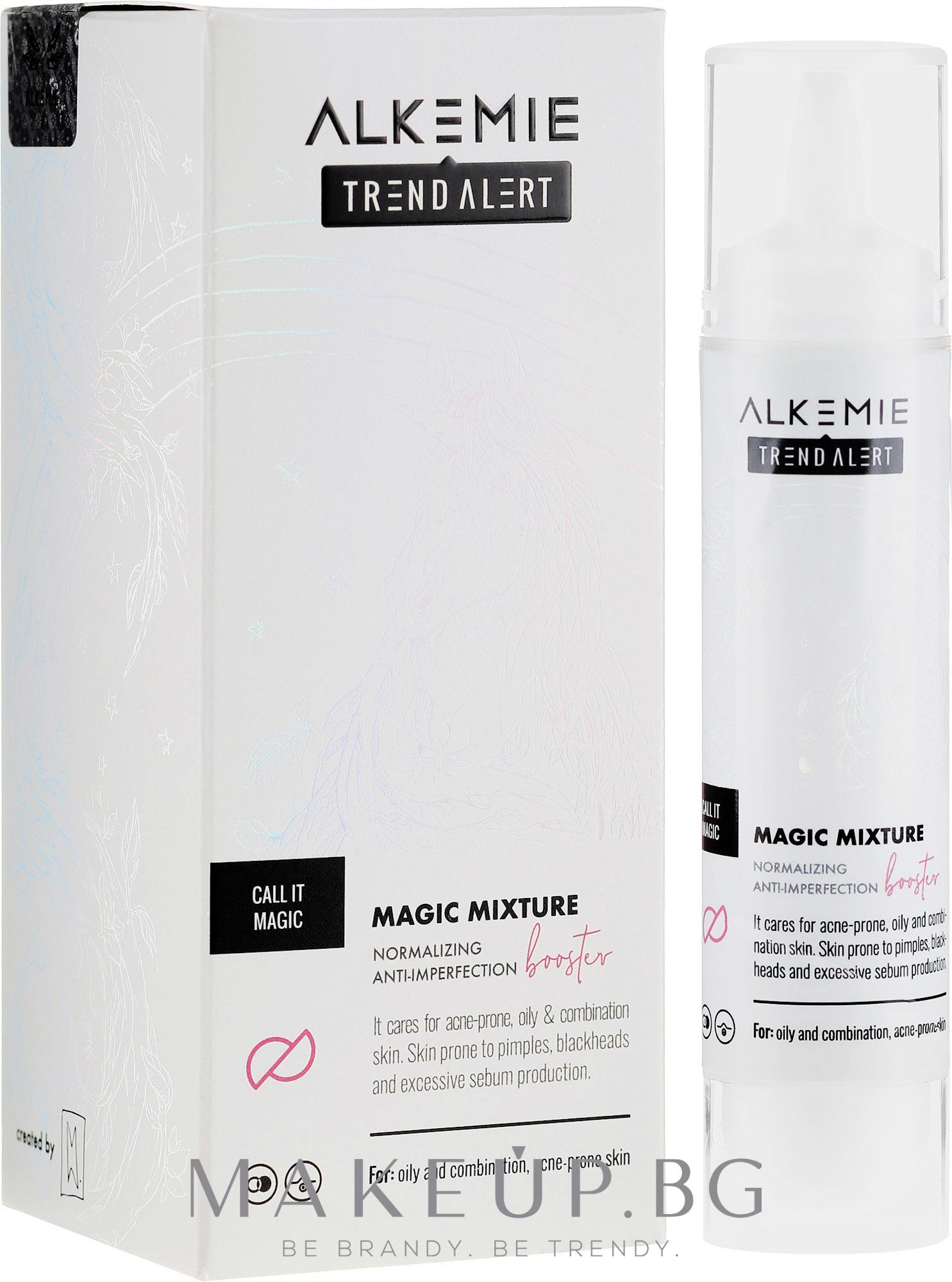 Нормализиращ бустер срещу несъвършенства - Alkemie Call it Magic Normalizing Anti-Imperfection Booster — снимка 30 ml