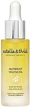 Парфюмерия и Козметика Подхранващо масло за лице - Estelle & Thild BioDefense Nutrient Youth Oil
