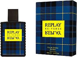 Парфюмерия и Козметика Replay Signature Re-verse For Men - Тоалетна вода