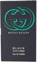 Парфюми, Парфюмерия, козметика Gucci Guilty Black Pour Homme - Тоалетна вода (мостра)