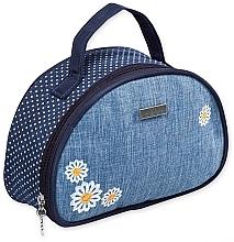 """Парфюмерия и Козметика Козметична чанта """"Camomiles"""", 98192, с цветя - Top Choice"""