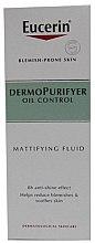 Парфюмерия и Козметика Матиращ флуид за лице - Eucerin Dermo Purifyer Oil Control Mattifying Fluid