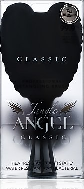Четка за коса - Tangle Angel Classic Black (18.7см) — снимка N3