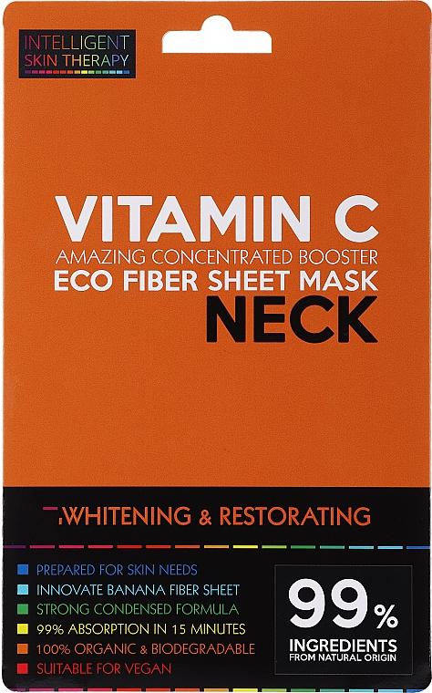 Маска за шия - Beauty Face IST Whitening & Restorating Neck Mask Vitamin C