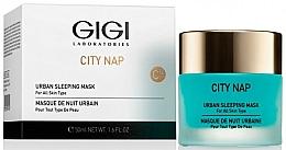 Парфюмерия и Козметика Нощна маска за лице - Gigi City Nap Urban Sleeping Mask