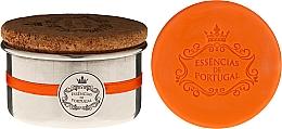 Парфюмерия и Козметика Натурален сапун - Essencias de Portugal Aluminium Jewel-Keeper With Cork Lid Orange