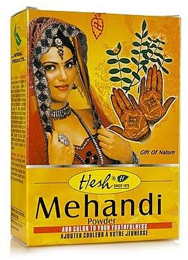 Порахообразна къна за коса - Hesh Mehandi Powder — снимка N1