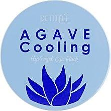 Хидрогелни хидратиращи пачове за очи с екстракт от столетник - Petitfee&Koelf Agave Cooling Hydrogel Eye Mask — снимка N3