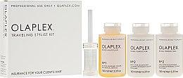 Парфюми, Парфюмерия, козметика Пътен комплект за защита на косата при боядисване - Olaplex Traveling Stylist Kit