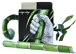 Парфюмерия и Козметика Натурален сапун с масло от хвойна и активен въглен - Uoga Uoga Bravo! Natural Detoxifying Soap
