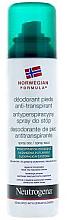 Парфюми, Парфюмерия, козметика Дезодорант за крака - Neutrogena Formula Norweska Spray