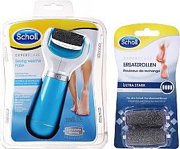 Парфюмерия и Козметика Електрическа пила за крака + 2 сменяеми ролки - Scholl Expert Care Ultra Stark