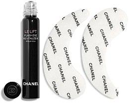Парфюми, Парфюмерия, козметика Комплект - Chanel Le Lift (серум/5ml + пачове/2бр)