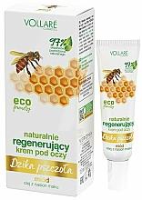"""Парфюмерия и Козметика Възстановяващ околоочен крем """"Дива пчела"""" - Vollare"""
