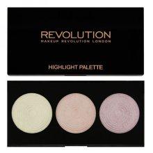 Парфюми, Парфюмерия, козметика Палитра озаряващ руж за лице - Makeup Revolution Highlight Palette