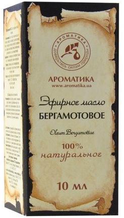"""Етерично масло """"Бергамот"""" - Aromatika"""