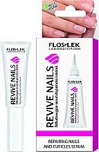 Парфюмерия и Козметика Възстановяващ серум за нокти и кожички - Floslek Revive Nails Serum
