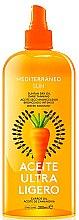 Парфюми, Парфюмерия, козметика Сухо масло за тен - Mediterraneo Sun Carrot Suntan Dry Oil