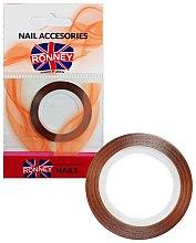Парфюми, Парфюмерия, козметика Декорираща лента за нокти 00370, златиста - Ronney Professional