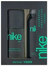 Парфюмерия и Козметика Nike Men Aromatic Addiction - Комплект (део/200ml + спрей за тяло/75ml)