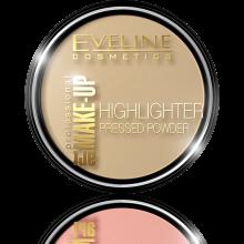 Парфюми, Парфюмерия, козметика Eveline Cosmetics Highlighter Pressed Powder Art Professional Make-up - Изсветляваща компактна пудра за лице