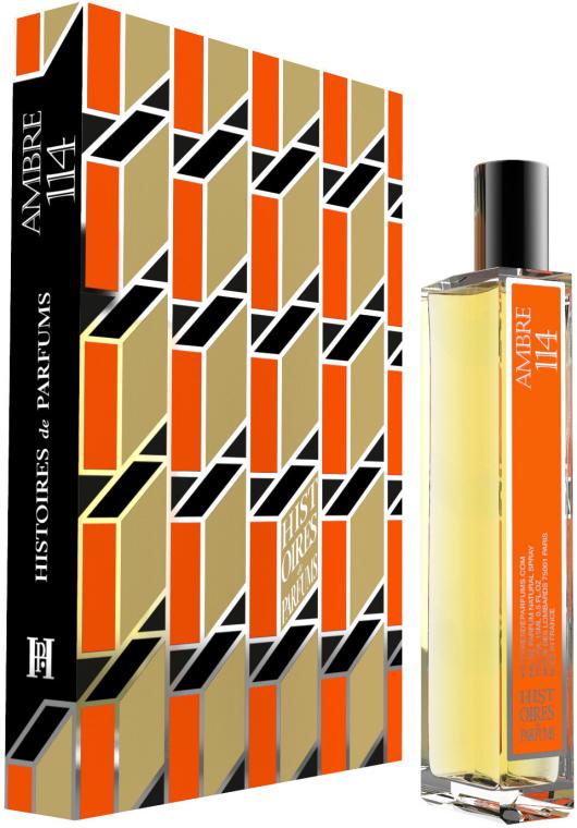 Histoires de Parfums Ambre 114 - Парфюмна вода (мини) — снимка N1