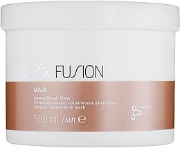 Парфюмерия и Козметика Интензивно възстановяваща маска за коса - Wella Professionals Fusion Intense Repair Mask