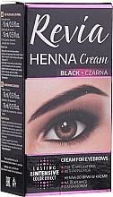 Парфюмерия и Козметика Боя за мигли и вежди - Revia Eyebrows Henna
