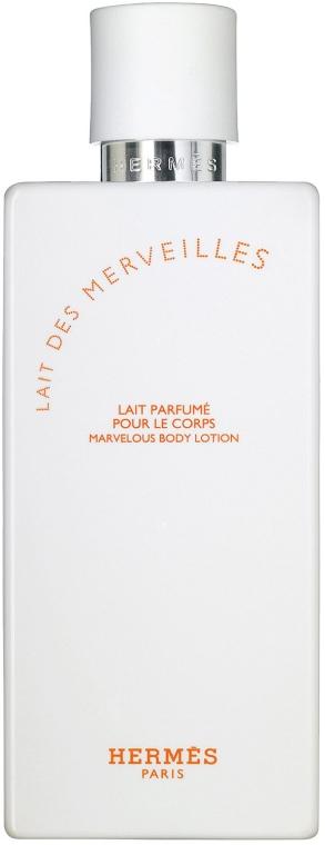 Hermes Eau des Merveilles - Мляко за тяло — снимка N2