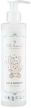 Парфюмерия и Козметика Детски измиващ гел за вана и коса - Lille Kanin Bad & Shampoo