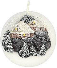 Парфюми, Парфюмерия, козметика Декоративна свещ, 8 см - Artman Christmas House Candle Ball