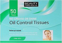 Парфюми, Парфюмерия, козметика Матиращи кърпички за лице - Beauty Formulas Oil Control Tissues