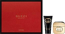 Парфюми, Парфюмерия, козметика Gucci Guilty - Комплект (edt/30ml + b/lot/50ml)