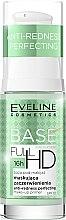 Парфюми, Парфюмерия, козметика Основа за грим - Eveline Cosmetics Full HD Make Up Base Anti Redness Perfecting Primer SPF10