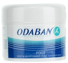 Парфюмерия и Козметика Прахообразен прах за крака и обувки - Odaban Foot and Shoe Powder