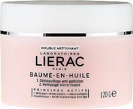 Парфюмерия и Козметика Почистващ балсам, базиран на масла - Lierac Double Nettoyant Baume-En-Huile