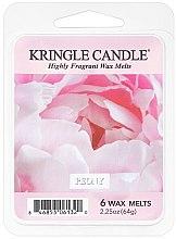 Парфюмерия и Козметика Восък за аромалампа - Kringle Candle Peony