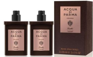 Acqua di Parma Colonia Leather Eau de Cologne Travel Spray Refill - Одеколон — снимка N1