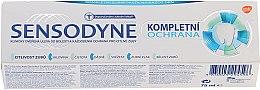 Парфюмерия и Козметика Паста за зъби с комплексна защита и флуор - Sensopdyne Toothpaste