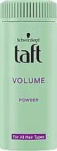 "Парфюмерия и Козметика Стайлинг-пудра за коса ""Моментален обем"" - Schwarzkopf Taft Volumen Powder"