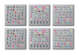 Парфюми, Парфюмерия, козметика Стикери за нокти, 42300 - Top Choice Words Neon
