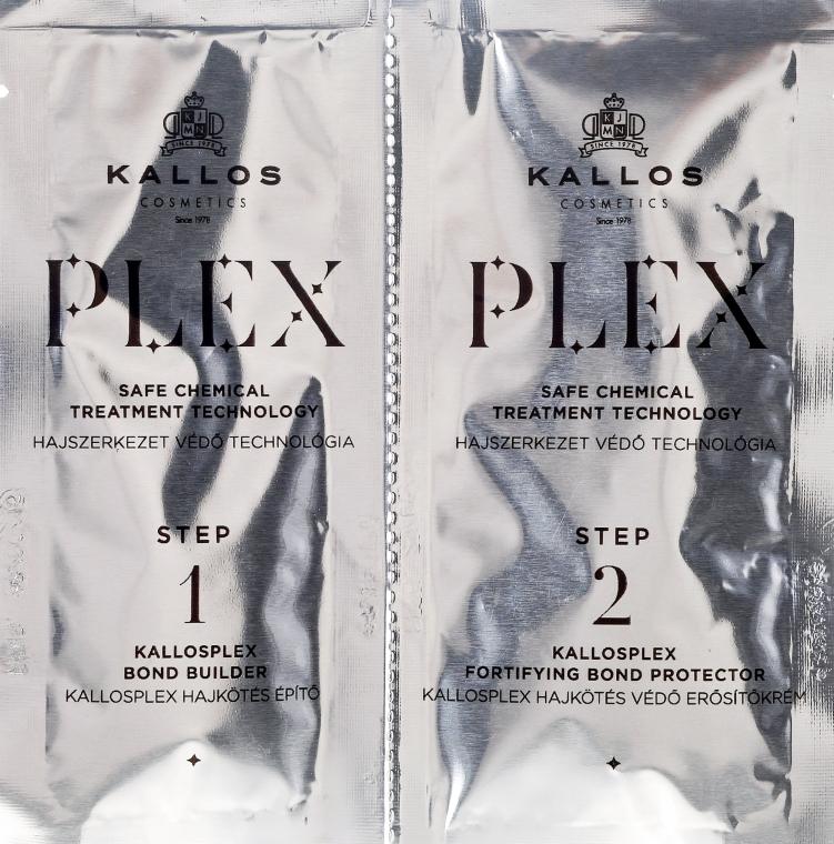 Ампули за безопасно химическо обработване - Kallos Cosmetics PLEX Safe Chemical Treatment Technology