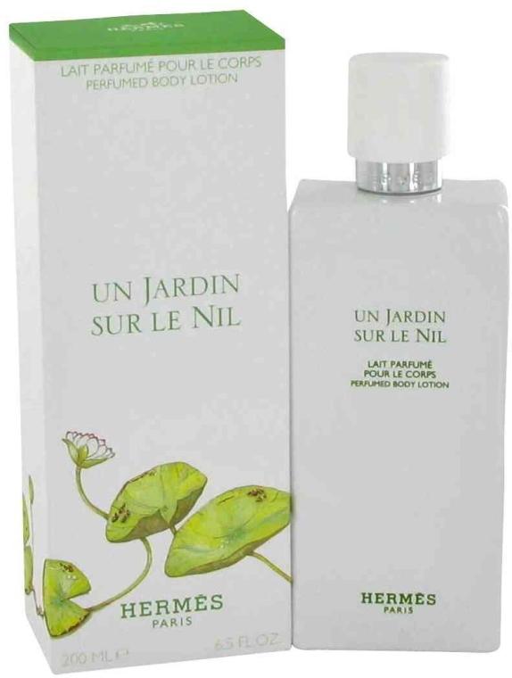 Hermes Un Jardin sur le Nil - Лосион за тяло — снимка N1