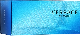 Versace Man Eau Fraiche - Комплект (тоал. вода/100ml + душ гел/100ml + bag) — снимка N1