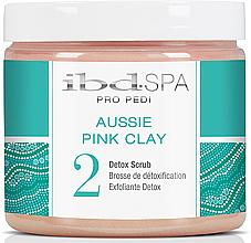 Парфюмерия и Козметика Скраб за ръце и стъпала с розова глина - IBD Aussie Pink Clay Detox Scrub