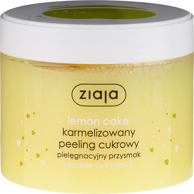 """Захарен пилинг за тяло """"Лимонов кекс"""" - Ziaja Sugar Body Peeling"""