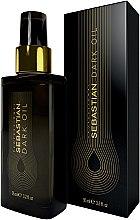 Парфюмерия и Козметика Масло за гладкост и плътност на косата - Sebastian Professional Dark Oil