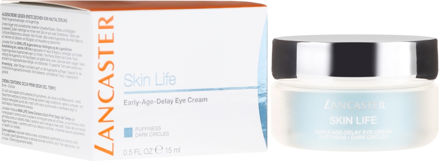 Околоочен крем - Lancaster Skin Life Early Age Delay Eye Cream — снимка N1